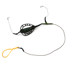 1PC 30G 40G 50G 60G High Quality Capture Off Ability Fishing hook Explosion Hook With Lead Sinker Fishing Lure Tackle box