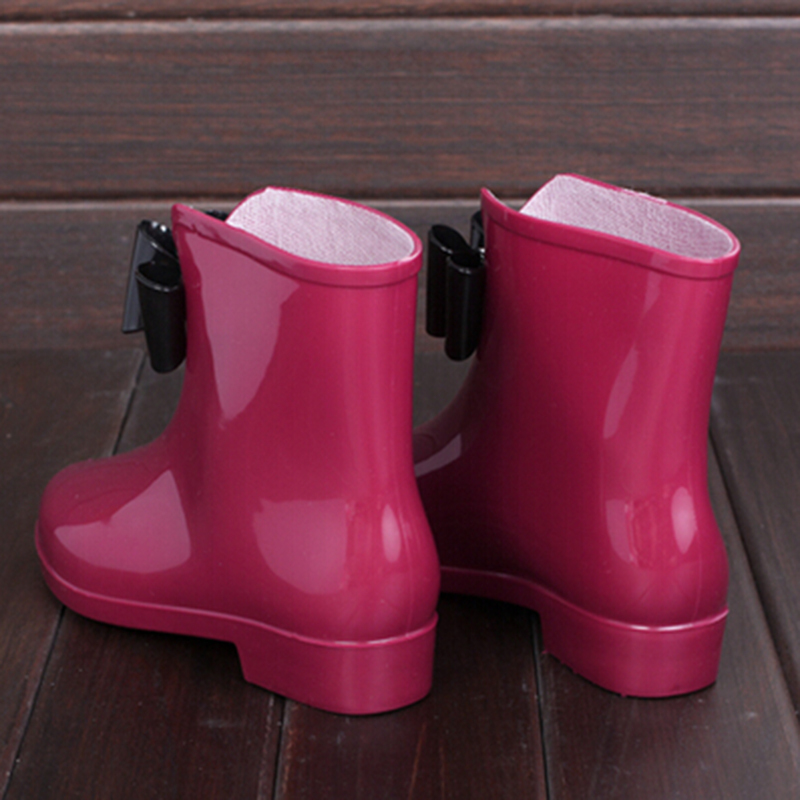 Aliexpress.com : Buy HEE GRAND Cute Short Bow Bowknot Rain Boots