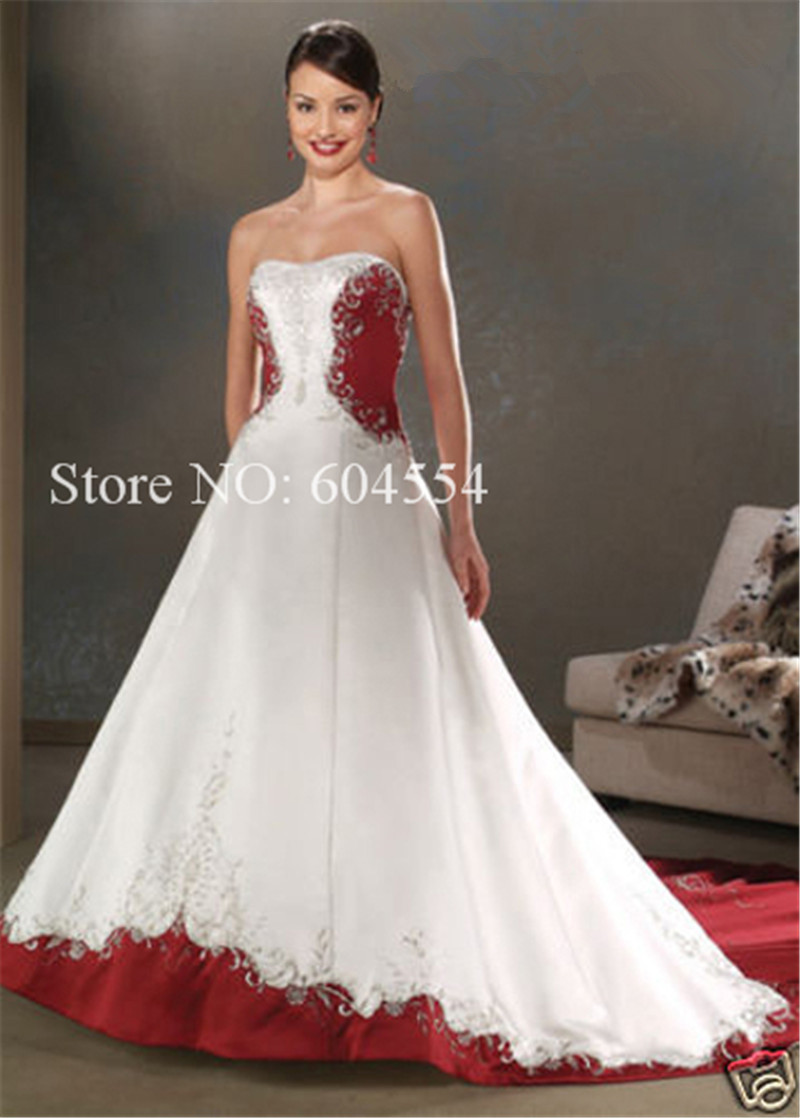 Online Get Cheap Dark Red Wedding Dresses -Aliexpress.com ...