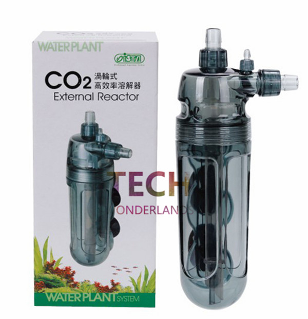 High efficiency CO2 external reactor Turbo diffuser 12/16mm for Aquarium Plants Atomizer Free Shipping A0016