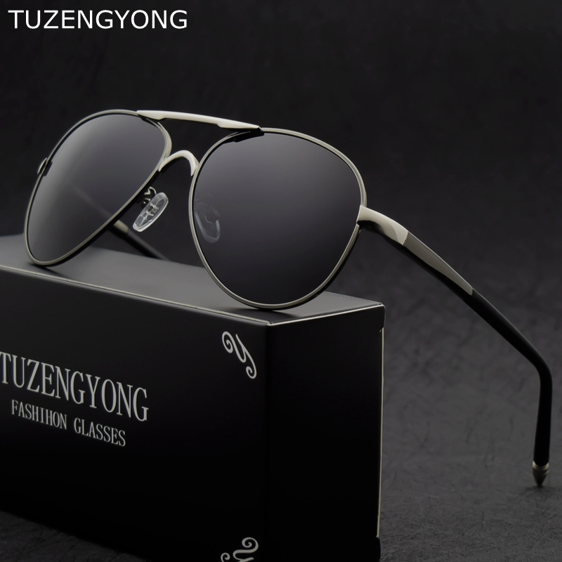 275028ba35c 2018 Classic Men s Sunglasses Brand Design new male cool Driving Sun  Glasses Polarized Coating Eyewear Accessories