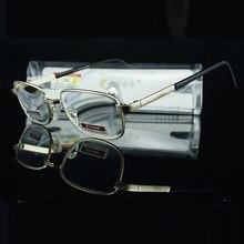 Gafas de lectura de aleación de alta calidad, marco completo de resina Hd o cristal Natural, lentes de lectura + 1 + 2019 + 2 + 1,5 + 3 + 2,5 + 4, Clara Vida, 3,5