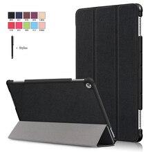 حافظة لهاتف huawei MediaPad M5 لايت 10 BAH2 W19/L09 10.1 غطاء لهواوي M5 لايت 10 ويك النوم جلد الوجه موقف فوندا + ستايلس