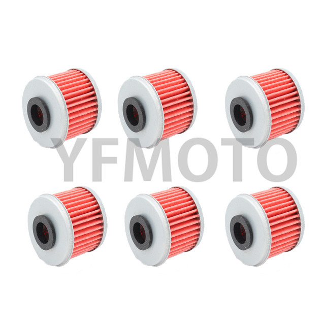 6 Pcs Filtro De Óleo Da Motocicleta Para Husqvarna TE250 TC250 09-15/TXC250 10-14 TXC250 R/TE310 R/TE250 R/R 13 TE310 TC250/TXC310R 11-14