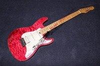 China firehawk OEM tienda Guita ondulación del Agua Más Nuevo Explorador de la guitarra eléctrica de Alta calidad de encargo Al Por Mayor envío libre del CCSME