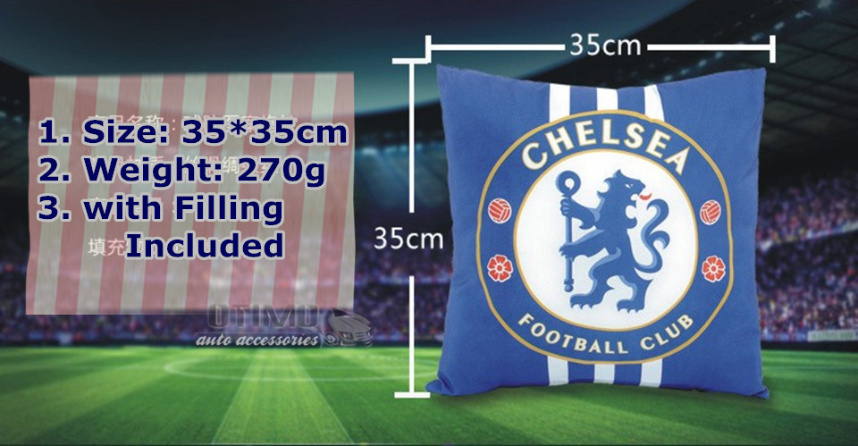 World Cup Football Decorative Pillow Seat Pillow Automobile Cotton Throw Pillow Cushion for Car Sofa Home Decoration 2