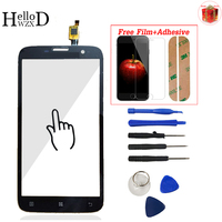 For Lenovo A850 A850 Plus Touch Screen Glass Digitizer Panel Front Glass Lens Sensor Tools Adhesive