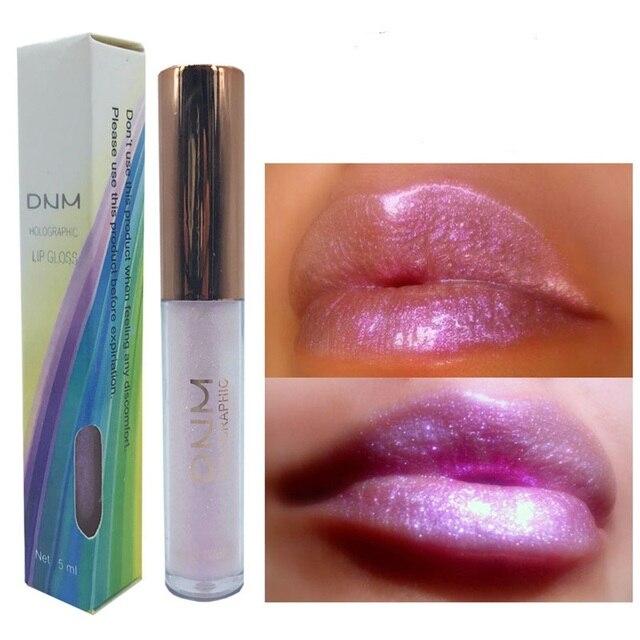 6 Colors Long Lasting Moisturizing Glitter Polarized Lip Gloss Lipstick Nourishing Natural Plant Fruit Lip Balm Lip Care Makeup
