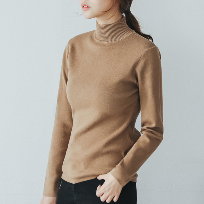 Autumn Winter New Turtleneck Sweater Women Fashion -4482