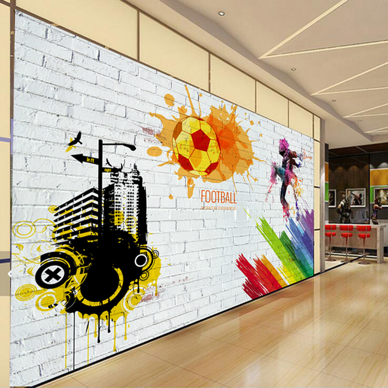 Football Wall Murals popular large basketball wall murals-buy cheap large basketball