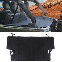 Oxford Cloth Car Rear Trunk Security Shield Cargo Cover Luggage Shade Covers For Jeep Wrangler JK 4 Door 2007 2017 KOLEROADER /