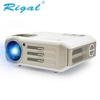 Rigal RD817 Proiettore Android WIFI Intelligente Full HD 1080 P LED Proiettore LCD 3500 Lumen TV Video 3D Projetor Home Theater Beamer