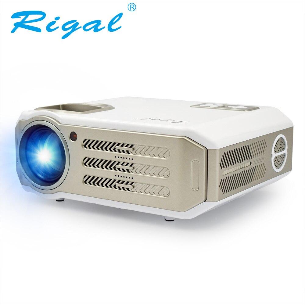 Rigal RD817 Projecteur Android 6.0 WiFi Full HD 1080 p LED Projecteur LCD 3500 Lumens TV Vidéo HDMI 3D Projetor beamer Pick Écran