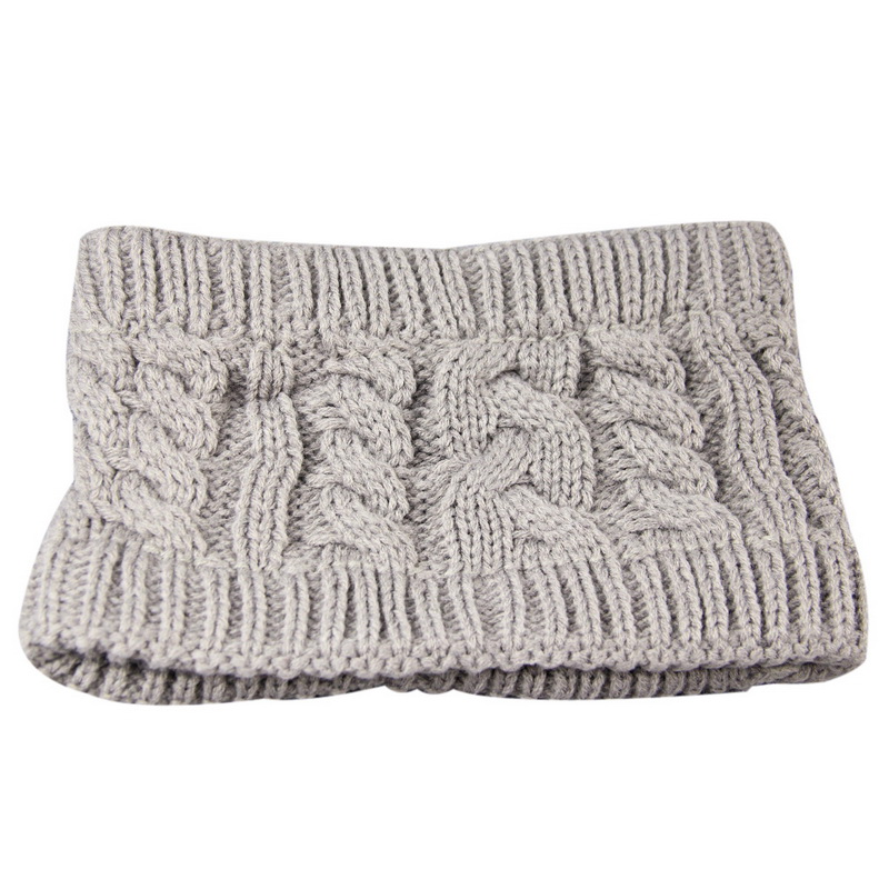NIBESSER Fashion Snowboard Warm Knitted Cap Snap Skullies Bonnet Beanie No Top Wool Hat Women Multi-purpose Hat 15