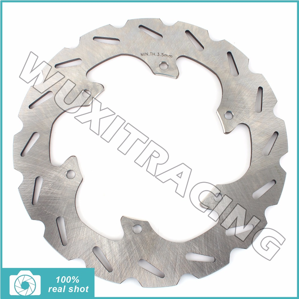 220MM Rear Brake Disc Rotor for SUZUKI RM125 RM 125 250 1988-1999 91 92 93 94 95 96 97 98 RMX 250 S 92-98 DRZ 400 E S 2000-2009