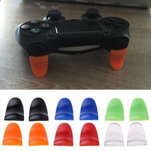 Game Accessory 1 Pair / Set L2 R2 Trigger Extended Buttons Kit For PS4 Controller(China)