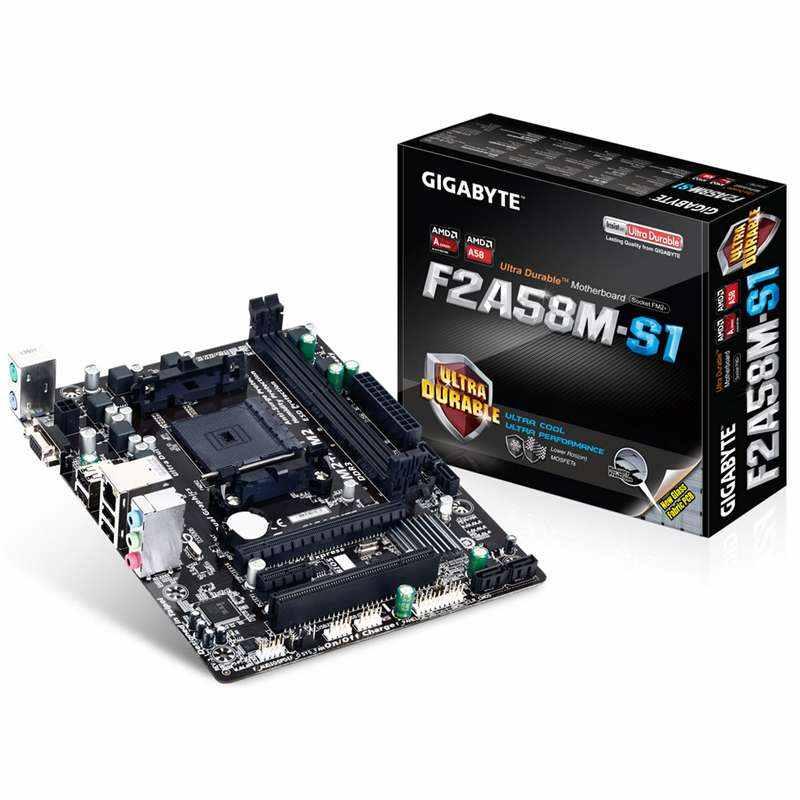 GA-F2A58M-S1 FM2/FM2+ motherboard