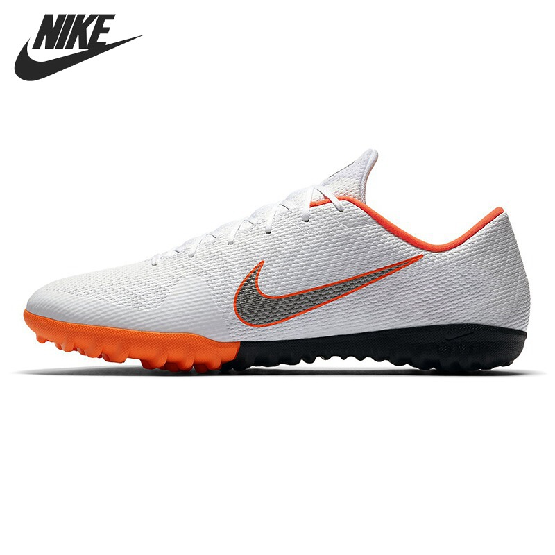Original New Arrival 2018 NIKE VAPOR 12 ACADEMY TF Men's Football Shoes Soccer Sneakers спортинвентарь nike чехол для iphone 6 на руку nike vapor flash arm band 2 0 n rn 50 078 os