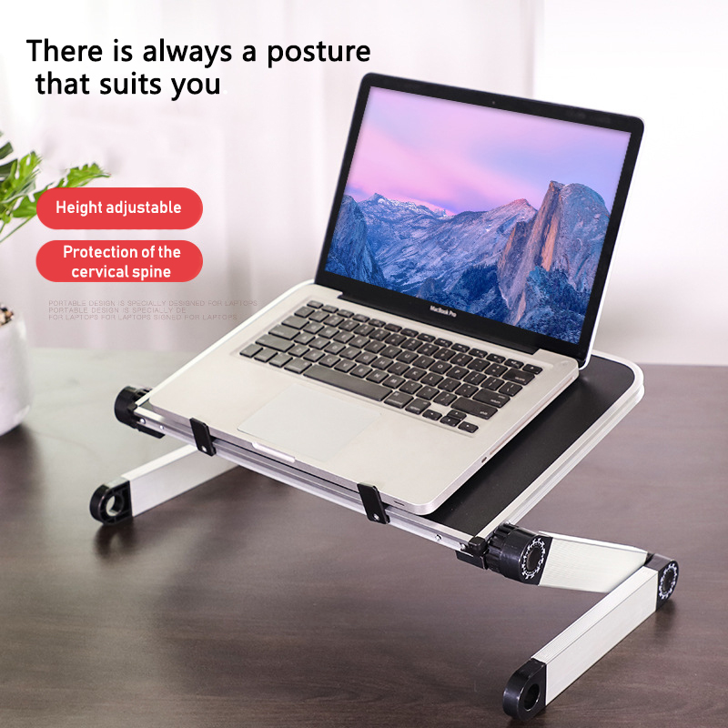 NEW! Adjustable foldable laptop Notebook desk Table Stand Portable Bed USA MA