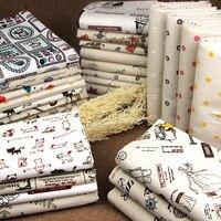 Cotton plaid tablecloths sofa pastoral floral curtain DIY handmade linen cloth wholesale