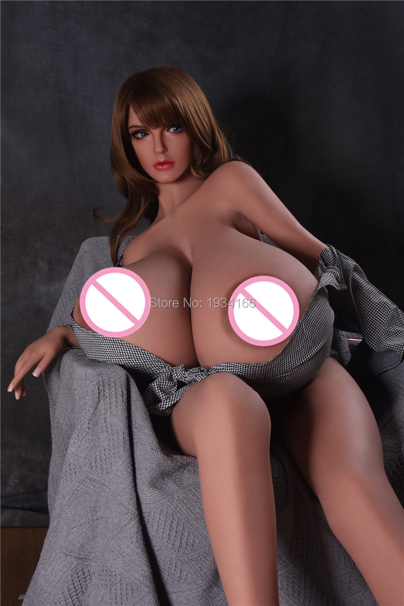 160cm Sex Doll Big Boobs Super Huge Breast Real Silicone For Men BBW Fat Hugh Boob Love Toy