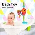 Brinquedos para o Banho do bebê Engraçado Banheiro Chuveiro Banheira Brinquedo Jogo de Banho Torneira de Água Água-aspersão Sprinker Brinquedo As Crianças Brincam No a Água