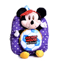 New arrived animals Kids Baby Bags Kindergarten 3D Plush Mickey Mouse Boys Girls School Bags For Girls Cute Cartoon School Bags