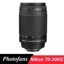 Nikon 70-300 г телеобъектив Nikkor 70-300 мм f/4-5,6 г линзы для nikon D90 D7100 D7200 D500 D610 D700 D750 D4 D5