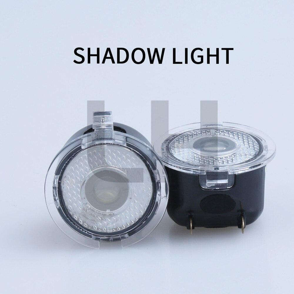 2x LED Voiture Logo Bienvenue Esprit Lampe Sous Miroir Flaque Lumière fit Pour Ford Bord Mondeo Explorer Everest F150 Taurus fusion