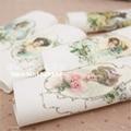 웃 유Рука окрашенные ткани 4 Ассорти 15*20 см 100% Trojan ...