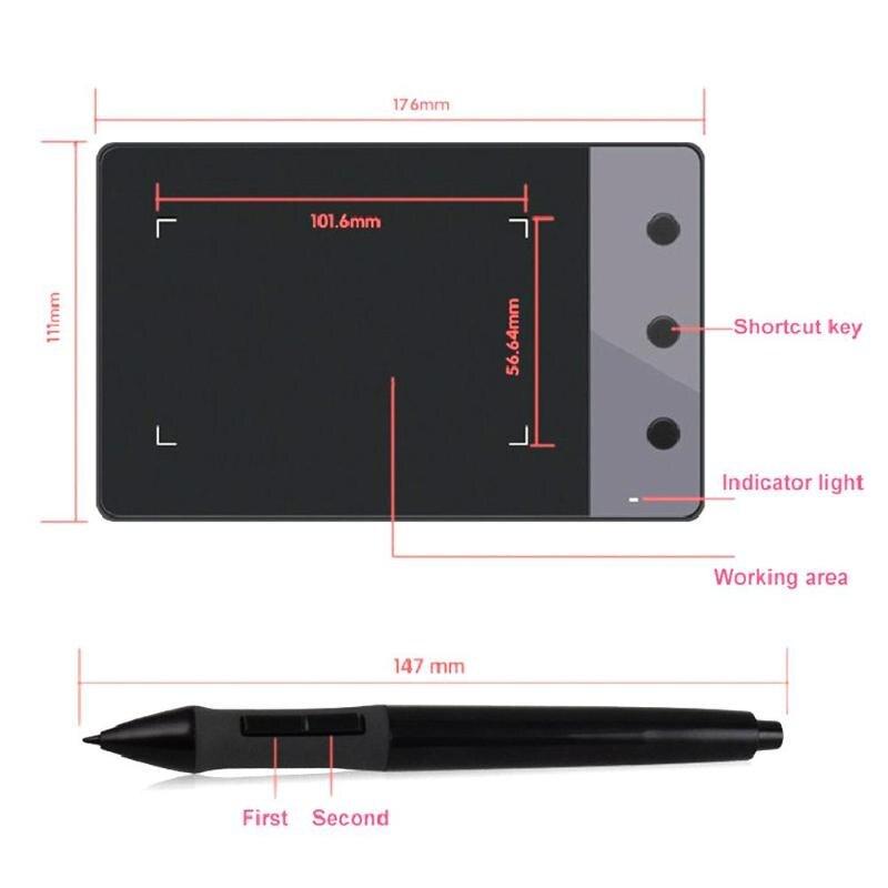 Dessin graphique numérique Portable pour tablette de Signature professionnelle Huion H420 - 5
