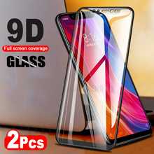 2Pcs/lot 9D Glass For Xiaomi Mi 8 SE Mi 8 Explore Mi 8 Lite Tempered Glass Screen Protector For Xiaomi Pocophone F1 full cover
