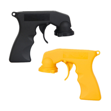 BU-Bauty High quality Spray Adaptor Aerosol Spray Gun Handle With Full Grip Trigger Locking Collar Car Maintenance