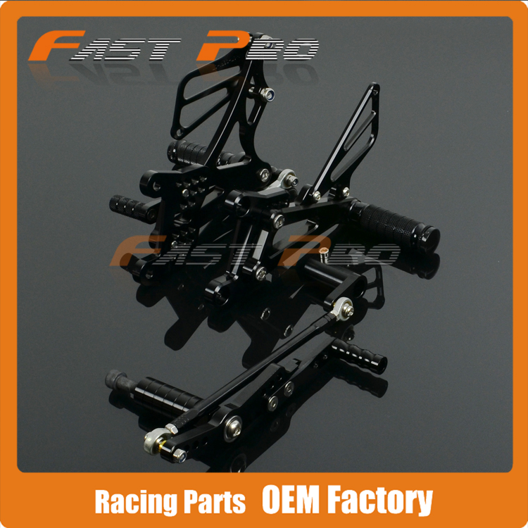 CNC Motorcycle Adjustable Billet Foot Pegs Pedals Rest For YAMAHA YZF R1 YZFR1 YZF-R1 2007 2008 07 08 hot sales for yamaha r1 fairings yzfr1 2007 2008 yzf r1 yzf r1 yzf1000 r1 07 08 red black abs fairings injection molding