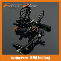 CNC Motorcycle Adjustable Billet Foot Pegs Pedals Rest For YAMAHA YZF R1 YZFR1 YZF R1 2007 2008 07 08