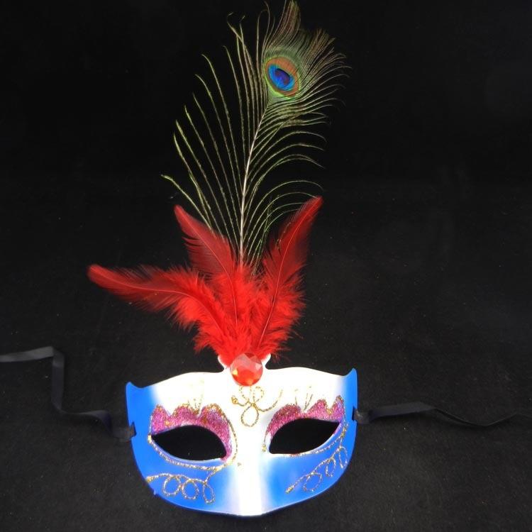 on sale <font><b>peacock</b></font> feather <font><b>pretty</b></font> party mask carnival mardi gras <font><b>costume</b></font> sexy lady eye mask fancy dress opera kid prom gift 50pcs