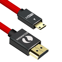 Hdmi-Compatible-Cable Tablet Mini Hdmi Male-To-Male for Camcorder MP4 1m 2m 3m 5m 1080P