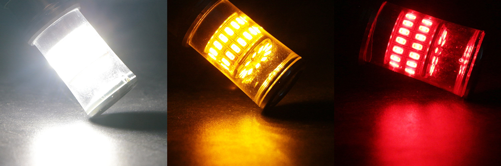 white red amber 3014-48SMD-L