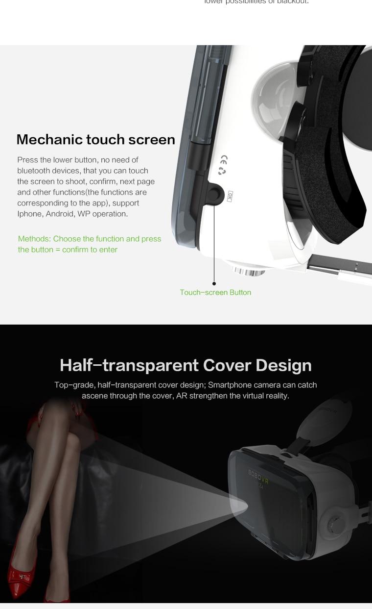 Original brand BOBOVR virtual reality 3D VR glasses near its territory Z4 best-selling Fit HD Large screen Smartphones 9