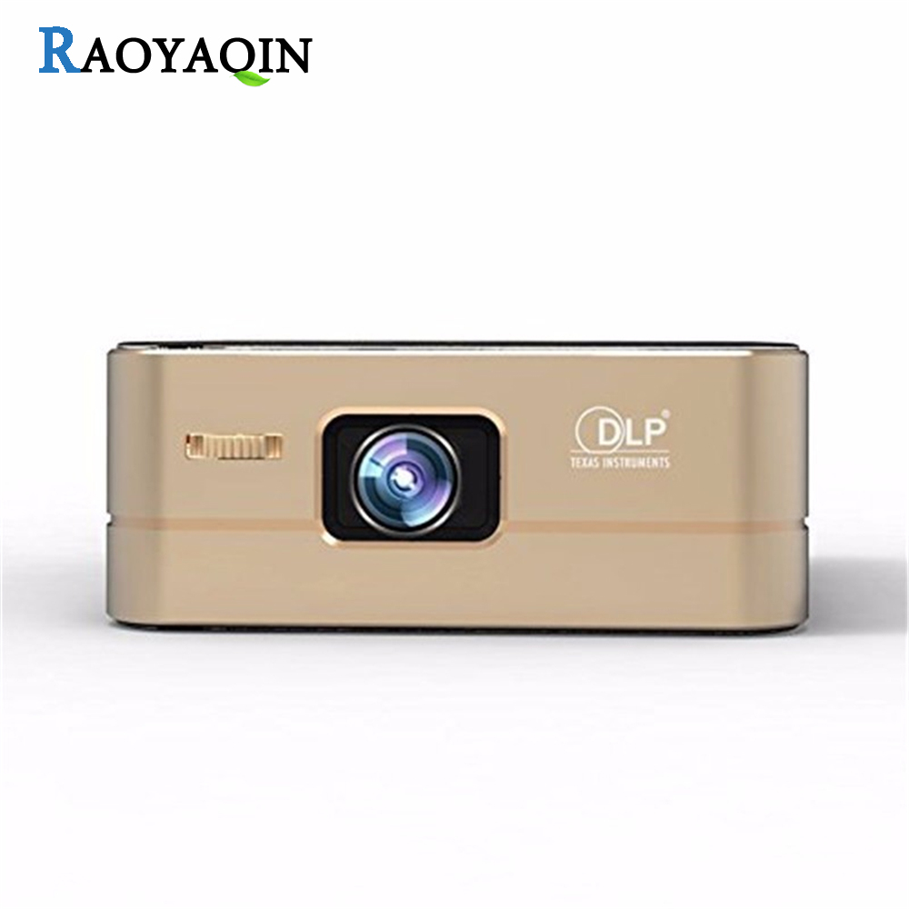 P96 Smart Pico Projector Portable Wireless Projector LED Hdmi 1080P HD Wifi Bluetooth Mini Home Theater Android Projector