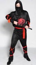 Взрослый Хеллоуин костюм наруто Dragon Ниндзя косплей костюм для мужчин аниме одежда onesie Карнавал костюм