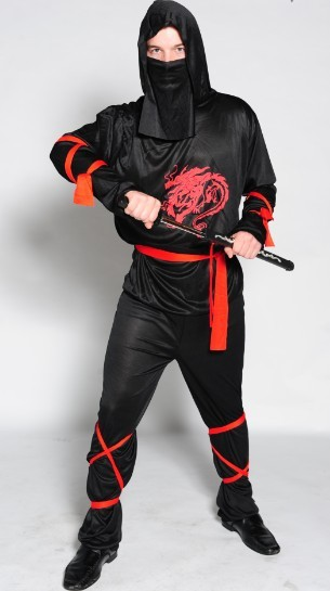 Ninja Halloween Costume Men.Us 26 31 8 Off Adult Halloween Costume Naruto Dragon Ninja Cosplay Costume For Men Anime Clothes Onesie Carnival Costume In Anime Costumes From