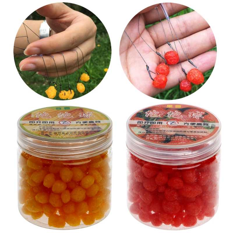 Fishing Baits easy shiner 1 Bottle Carp Fishing Baits Balls Pop Floating Lure Freshwater Saltwater Tackles dropshipping