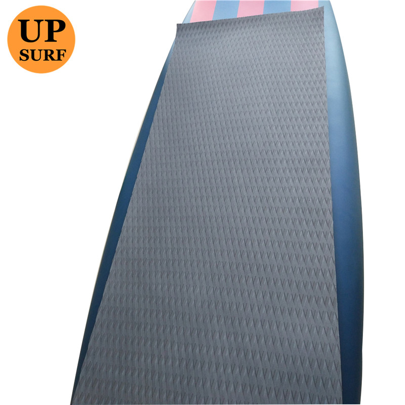 SUP Pad Grip Surfboard Traction EVA Deck Pad 3M Glue Surf Pads yatch deck pad 220cm