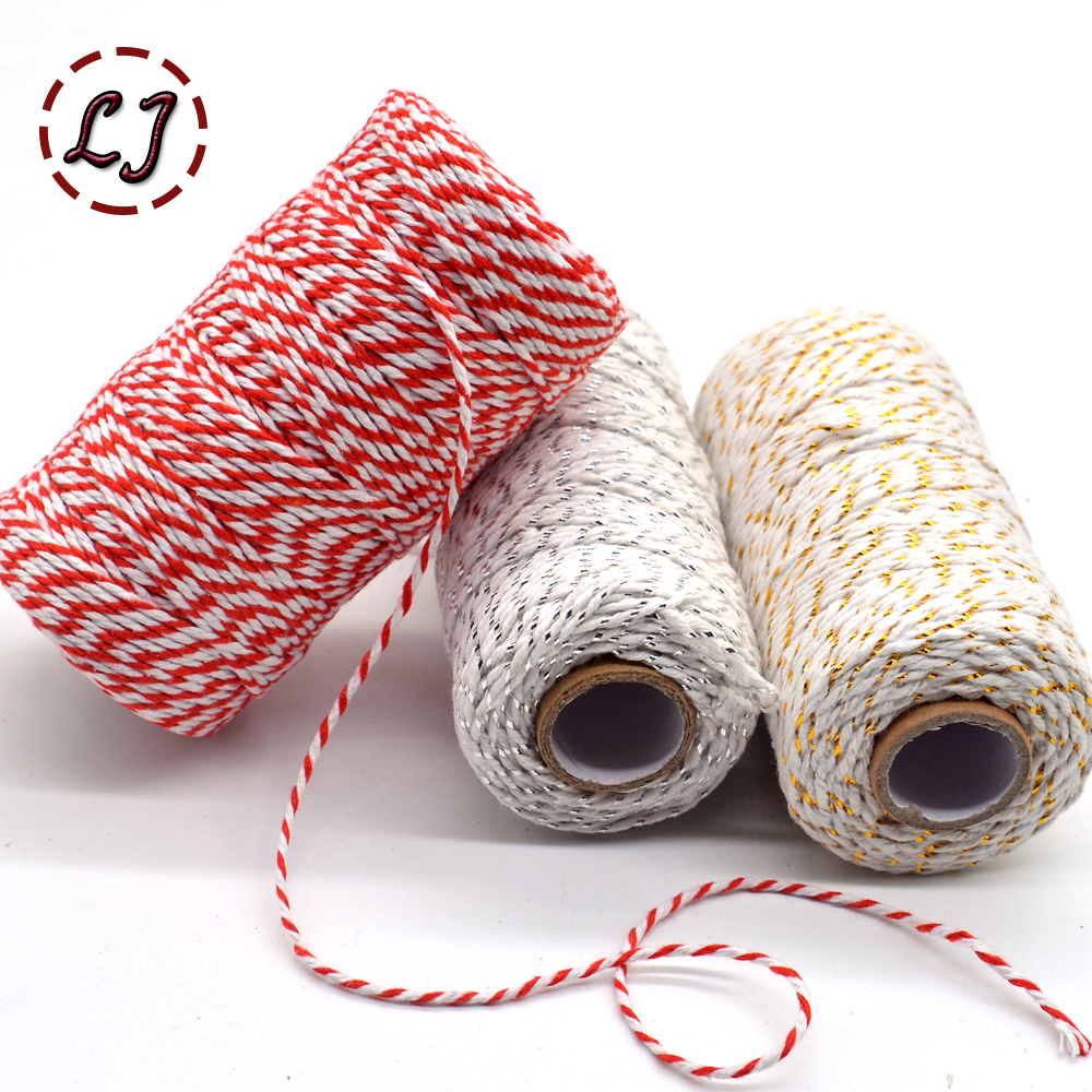 Diy Rope Craft Projects To Do At Home: Wholesale 100meters/roll 2ply Bakers Twine String Cotton