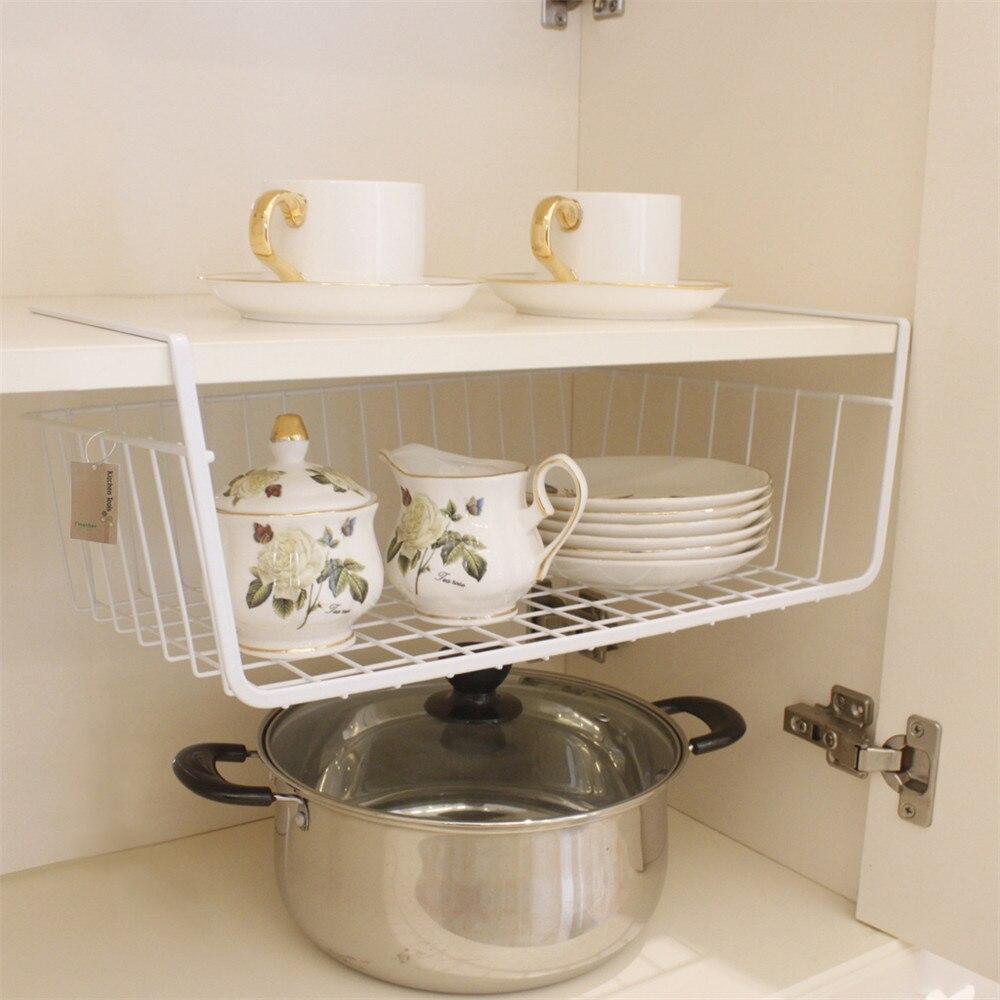 Finether Unter Regal Korb Wrap Rack Storage Organisation Korb Küche ...