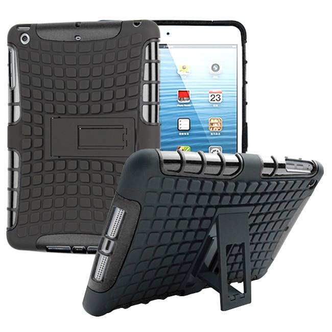 Za Apple iPad mini 1 2 3 ovitek za težke oklepe Hibridno stojalo za - Dodatki za tablične računalnike - Fotografija 2