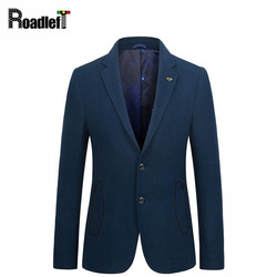2017 new men suits casual woolen jackets mens slim fit two button blazer black royal blue.jpg 250x250