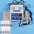 Dental lab MARATHON Handpiece 35 K RPM Micromotor polimento + broca brocas Elétrica