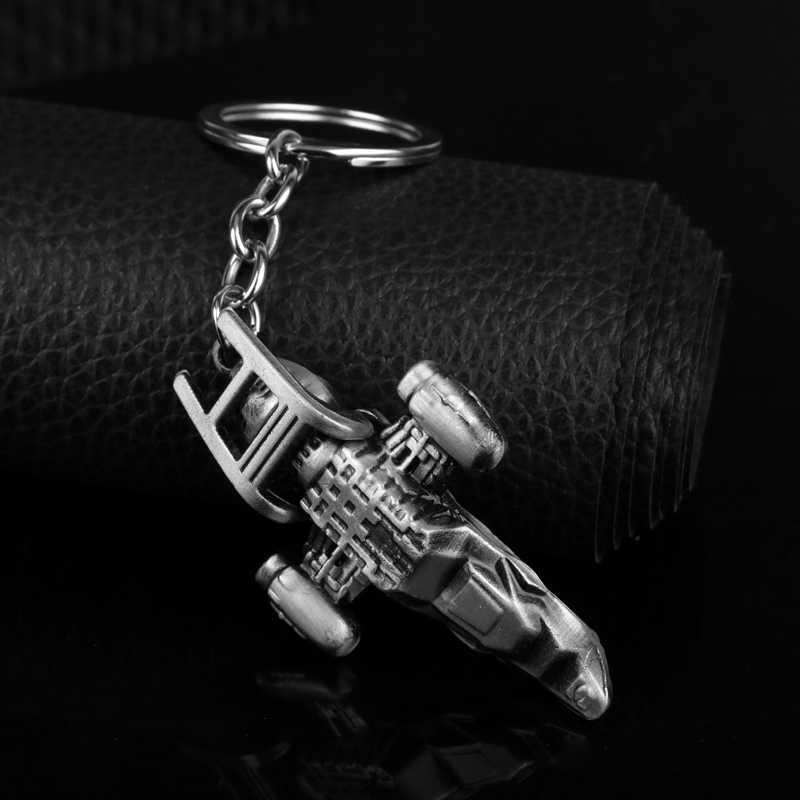 เครื่องประดับภาพยนตร์S Tar W Arsอวกาศเรือรุ่นพวงกุญแจแหวนสำหรับผู้หญิงแฟชั่นของมนุษย์พวงกุญแจ
